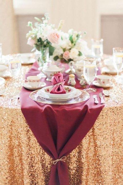 Цвет марсала сочетание с другими цветами свадьба