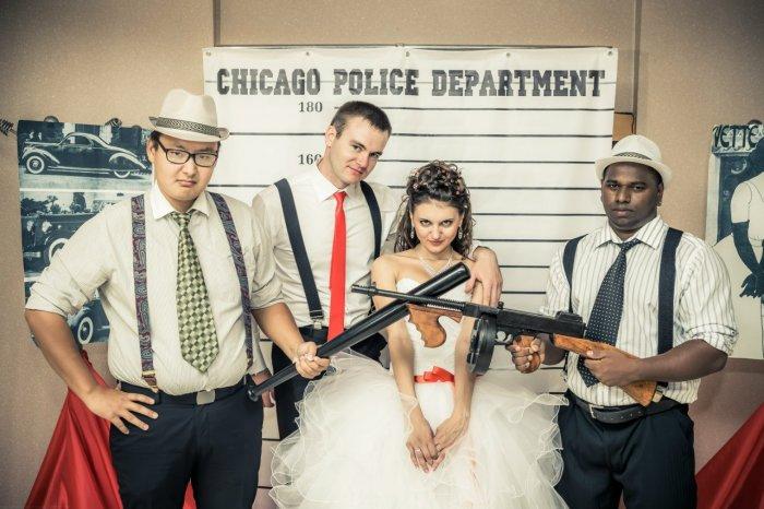 одной поздравление на свадьбу гангстер различия