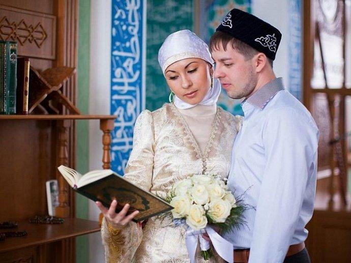 Свадьба в мечети фото