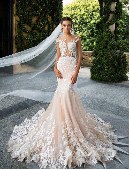 6863734e310 Самые красивые свадебные платья