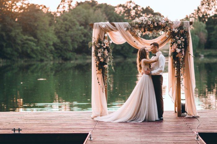 Выездная церемония брака