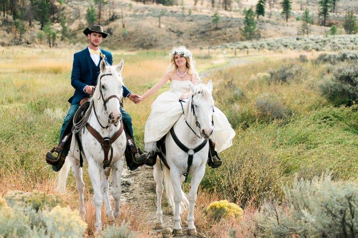креативные свадьбы фото