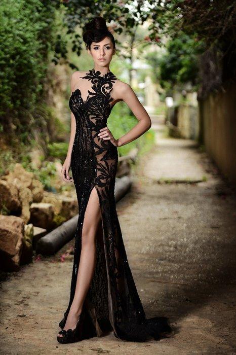 d30306564e4 Черное свадебное платье  наряд для смелой невесты