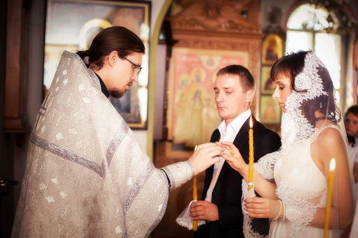 Процесс венчания в церкви
