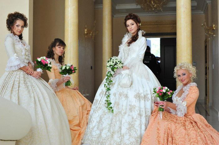 Платья в венецианском стиле