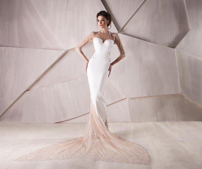 e158056b7fa Облегающие свадебные платья  фасоны и фото платьев в обтяжку