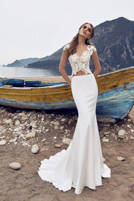 Раздельное платье рыбка