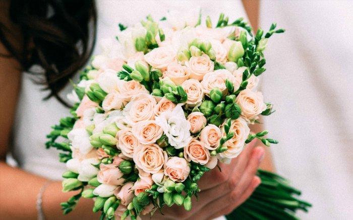 Свадебные букет для миниатюрных невесты приметы — photo 2