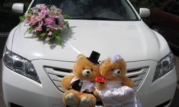 Свадебные украшения самому