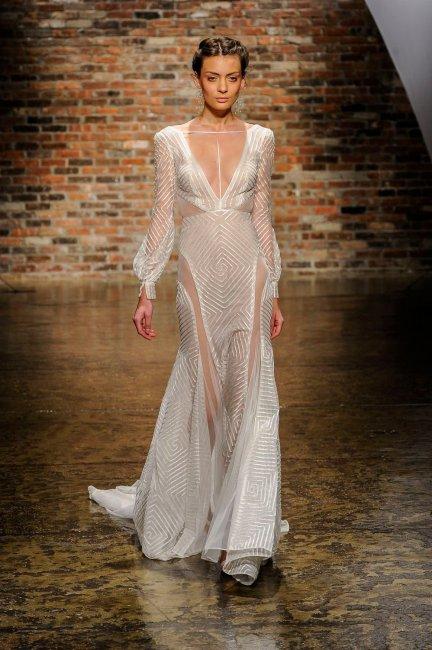 фото прозрачные платья невесты женщин