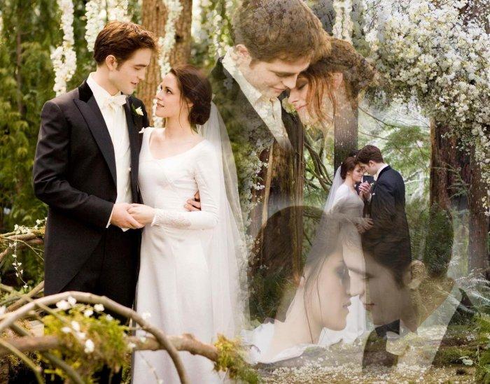 известность делает свадьба сумерек картинки без