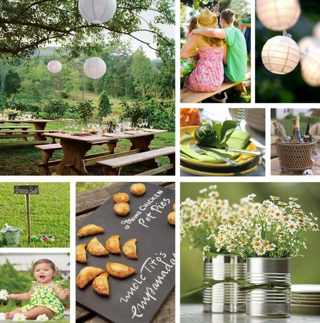 Всё для свадебного пикника