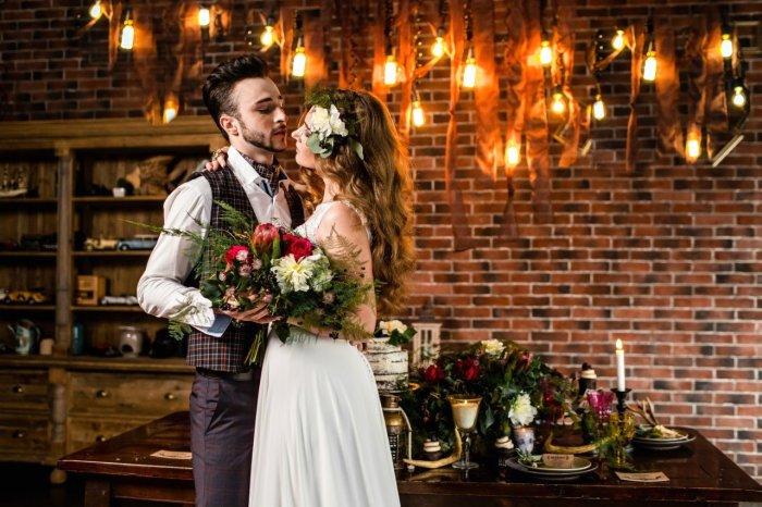 Модные стили свадеб 2020