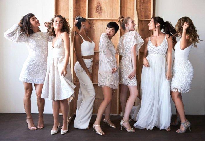 Альтернативы свадебному платью