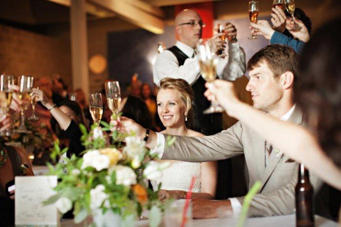 Молодежное поздравление на свадьбу