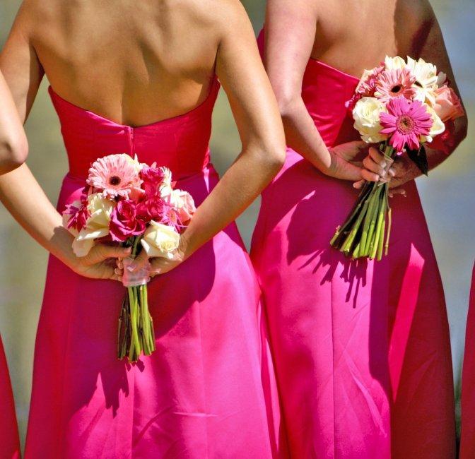 Цветов, весельно букетики для дружок