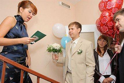 шутливый сценарий выкупа невесты в стихах