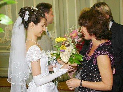 С днем свадьбы дочки родителей невесты