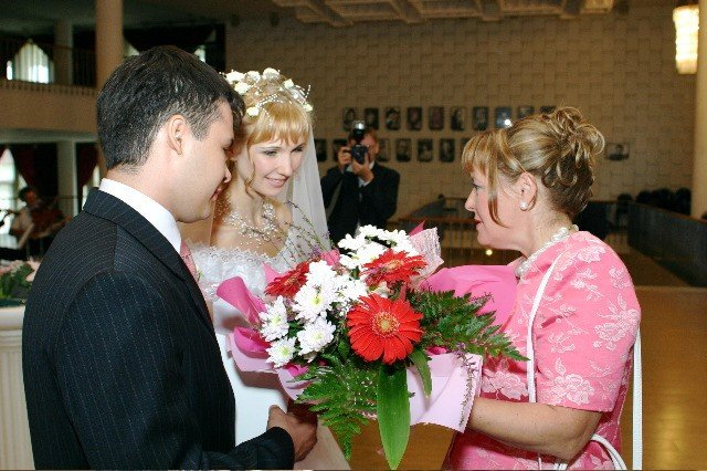 Поздравление на свадьбу от родителей