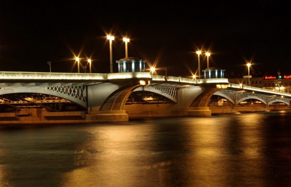 картинка мост благовещенский мост поздравляем