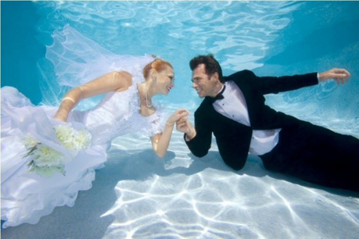 Необычные сценарии свадьбы