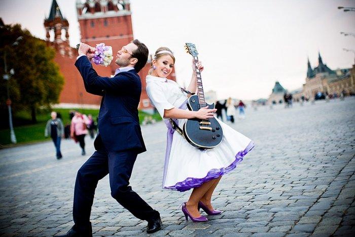 Свадьба в стиле рок н ролл