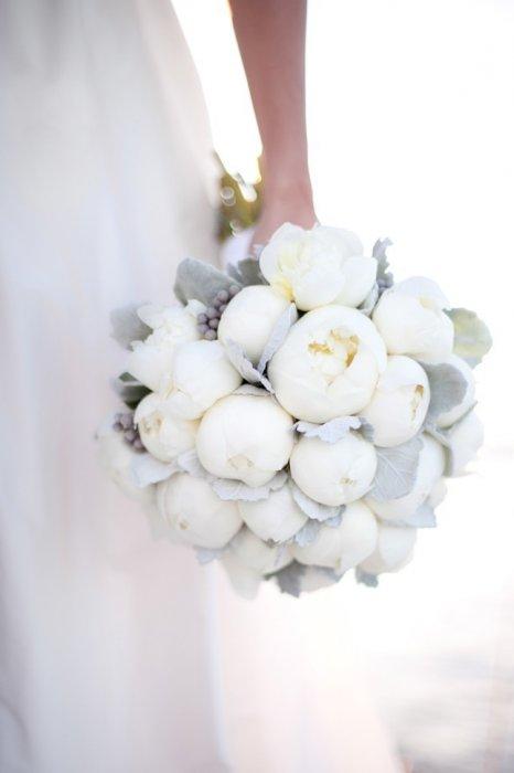 Пионы фото букет невесты