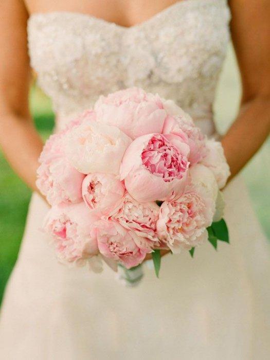 Название свадебный букет невесты из пионов — img 11