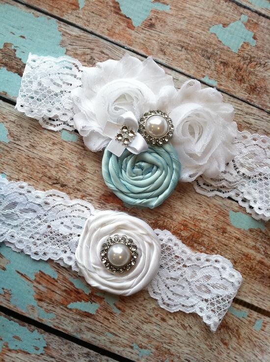 Винтажная подвязка для невесты