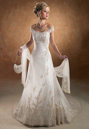 Свадебное платья от элеонор