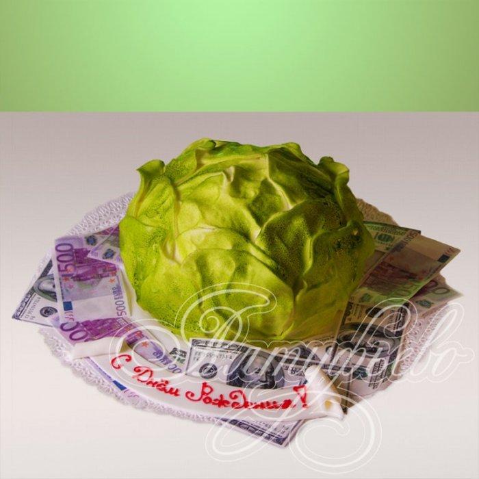Фото капусты с деньгами на открытку