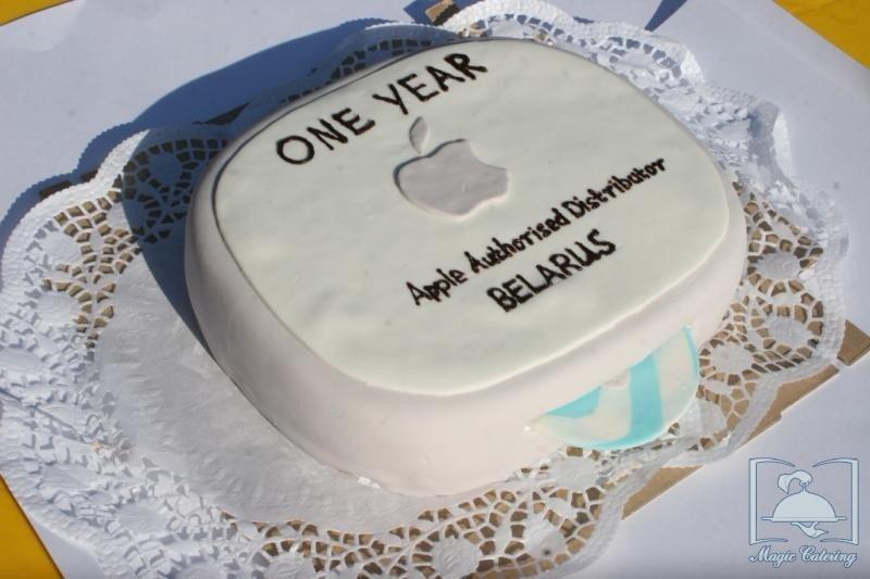 Нанесение фотографии торт