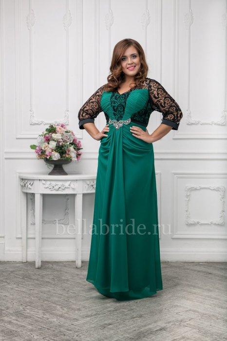 d30a6a3f0e23994 Вечерние платья больших размеров от салона «Bella Bride» (Москва)