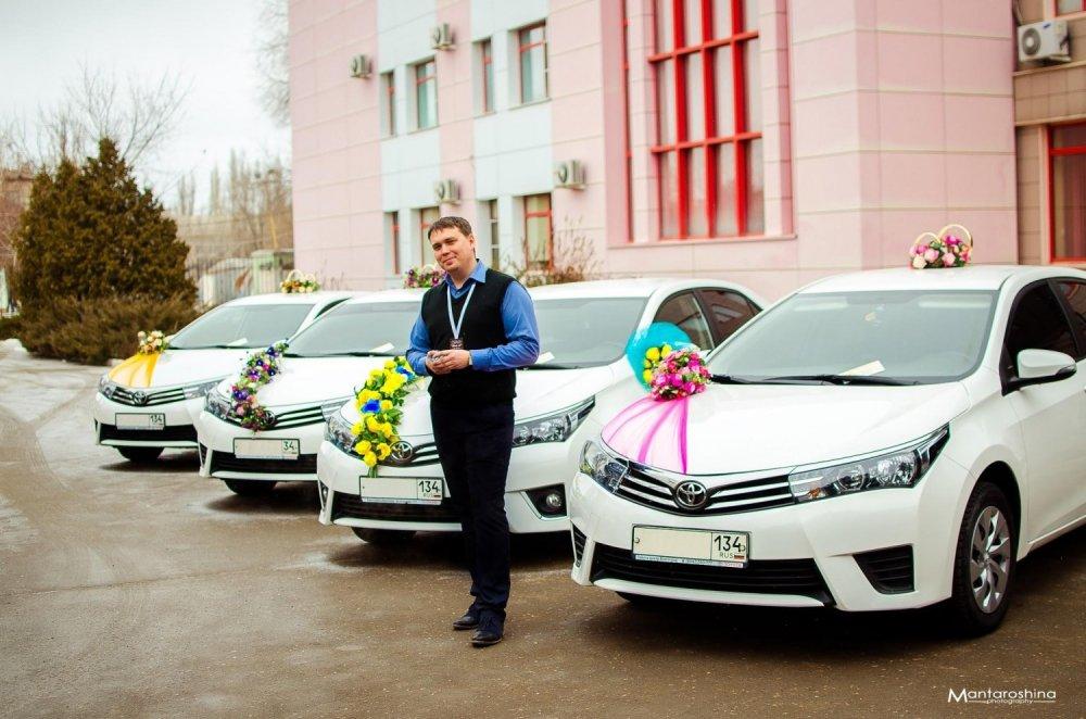 Машины для свадьбы волгоград