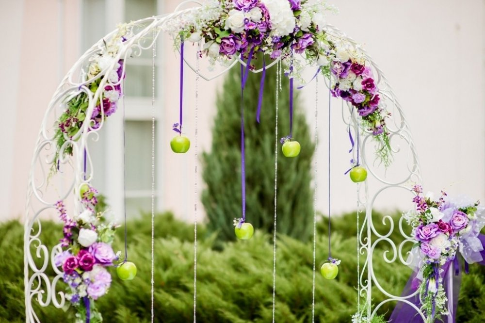 оформление арки на свадьбу фото расстрижет разорвет