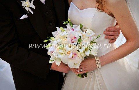 Букеты на свадьбу невесте фото