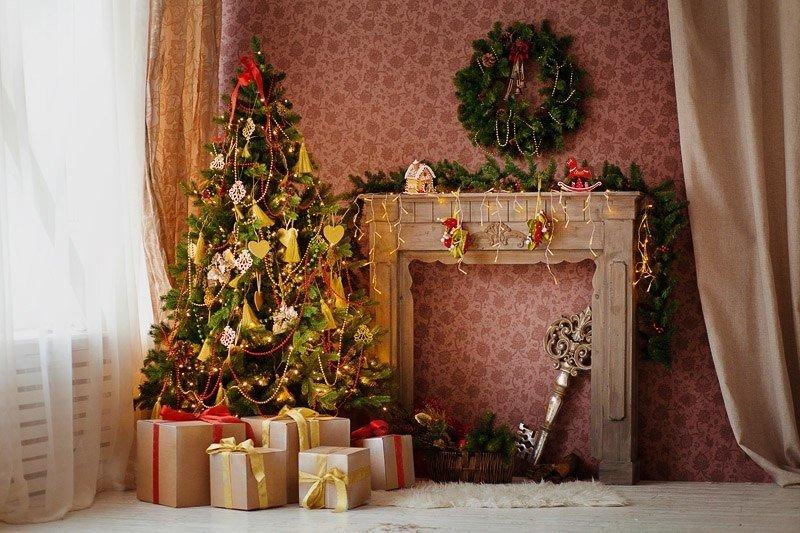 идеи как дома сделать новогоднюю фотостудию того как